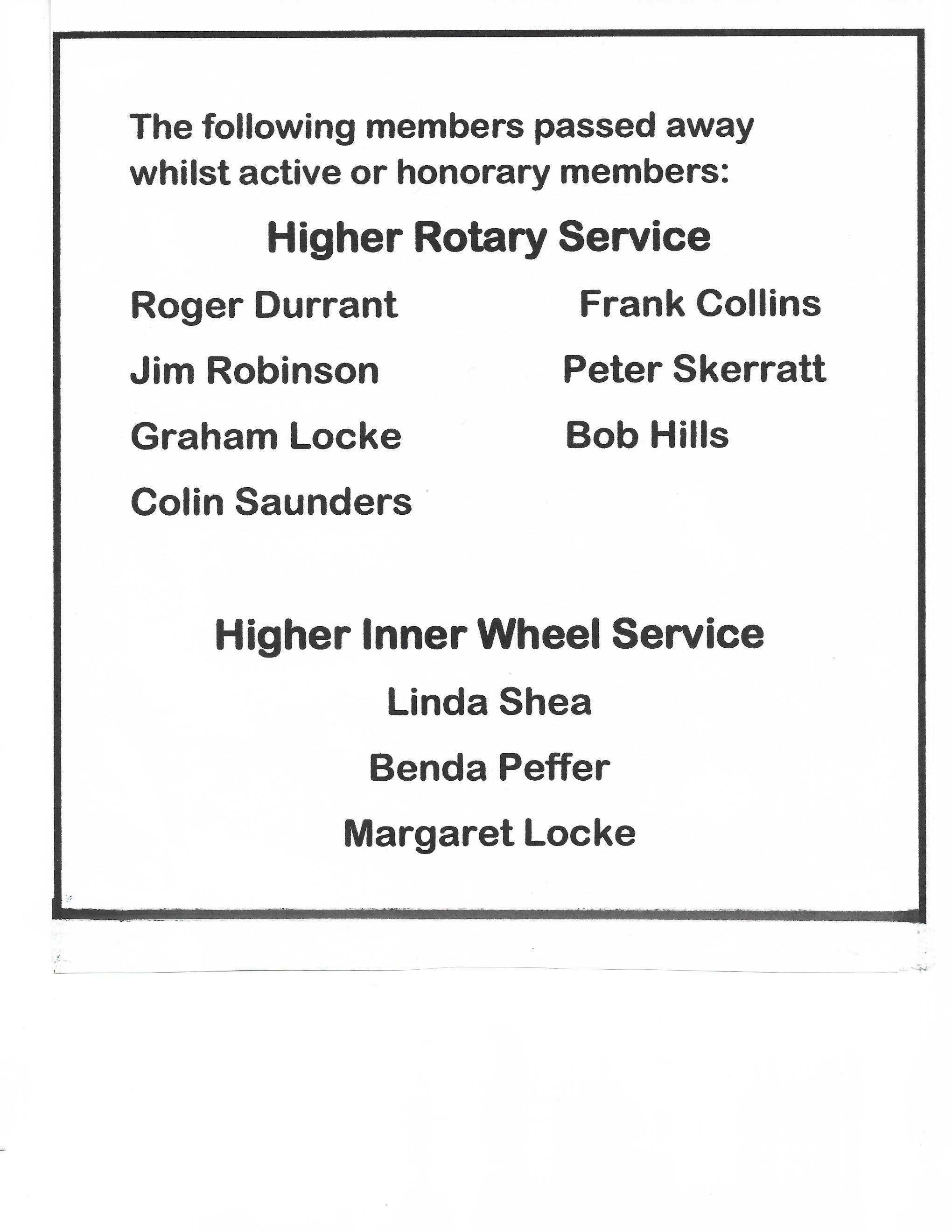 Higher Service